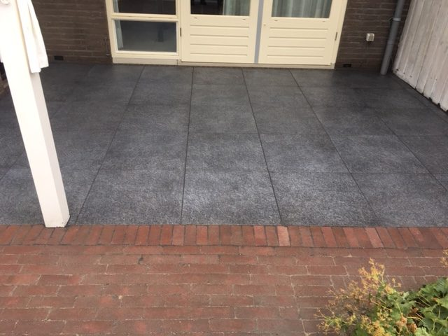 tegels geoceramica met drainage